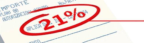 IVA naar 21%
