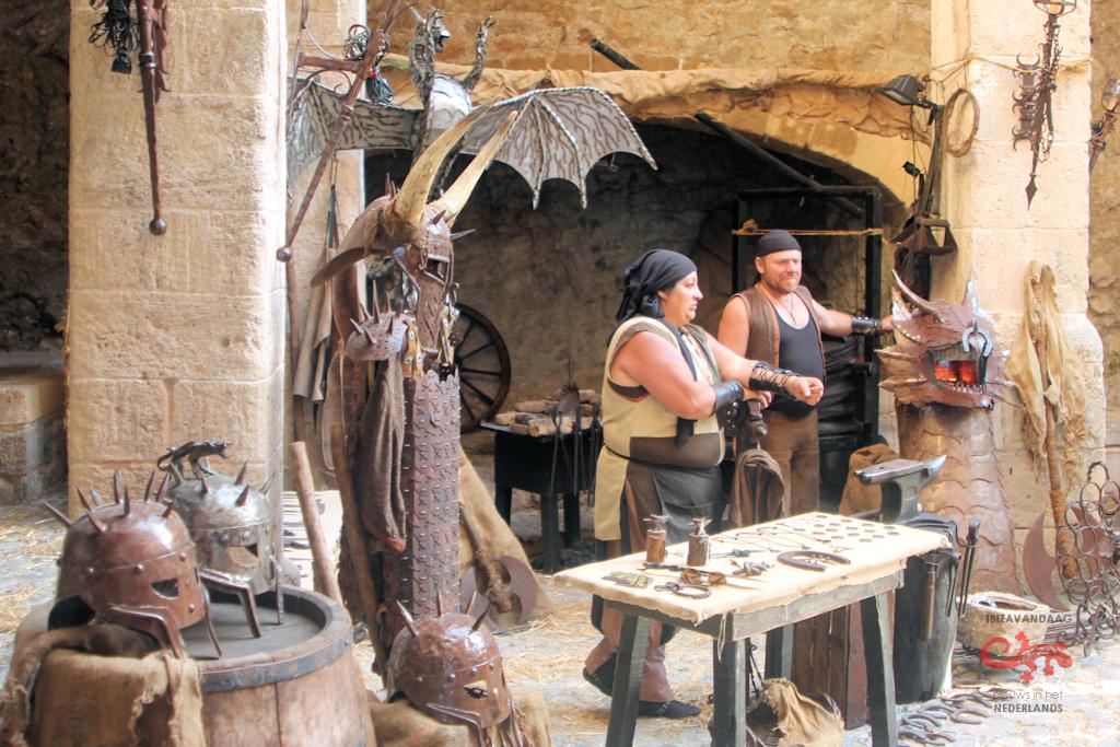 medieval-demonstratie