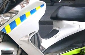 politiescooter