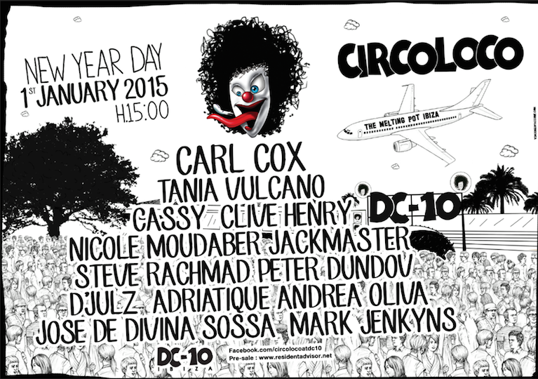 Circo-Loco-Flyer