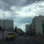 Regen in Santa Eulalia verlicht hittegolf