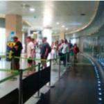 Lange rijen bij de controles tijdens de tweede dag van de staking op de luchthaven