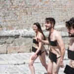 Naakt door Ibiza voor meer artistieke vrijheid